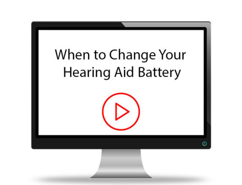 When to Change Your Hearing Aid Battery