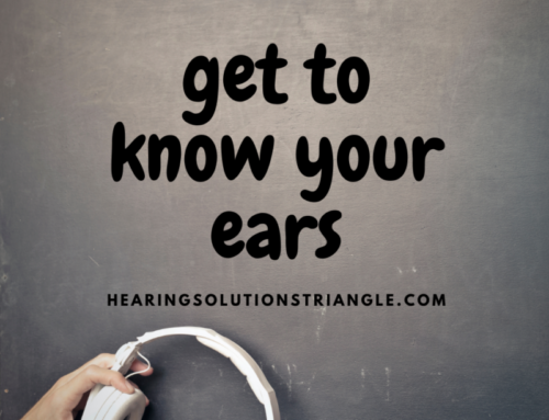 GET TO KNOW YOUR EARS
